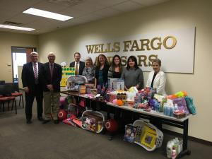 Wells Fargo In-Kind Donation